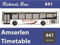 441 Timetable