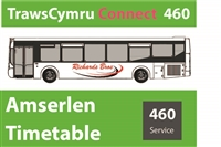 460 Reduced Timetable as from 27th July 2020