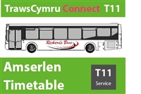 T11 Reduced Timetable from 29th June