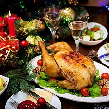 Weston Super Mare Turkey & Tinsel