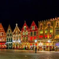 Belgium Brugge Christmas Market